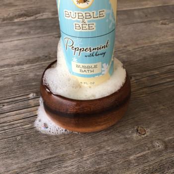 Peppermint (with Honey) Bubble Bath