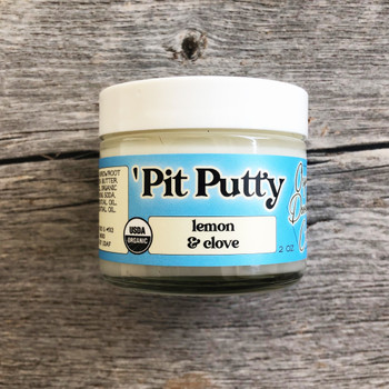 Lemon & Clove Pit Putty Organic Deodorant CREAM