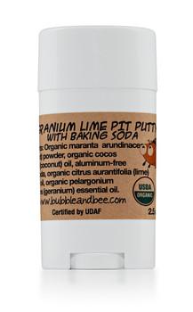 Geranium Lime Pit Putty Deodorant Stick