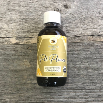 Organic Pit Primer live enzymes neutralize odor on contact.