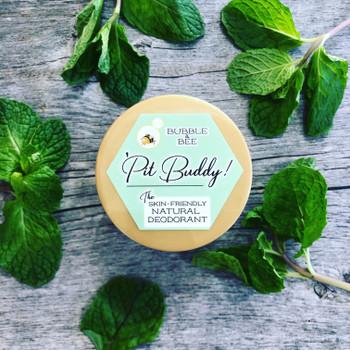 Pit BUDDY Sensitive Skin Deodorant Cream: Spearmint & Tea Tree