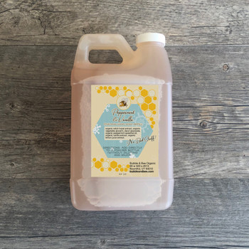 Peppermint & Vanilla Foaming Hand Soap 64 oz Refill