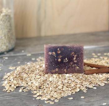 Organic (86%) Oatmeal Spice Soap