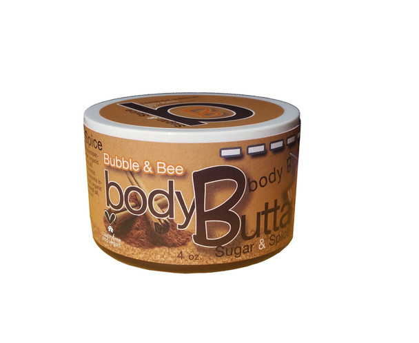 Sugar & Spice Organic Body Butter 4 oz