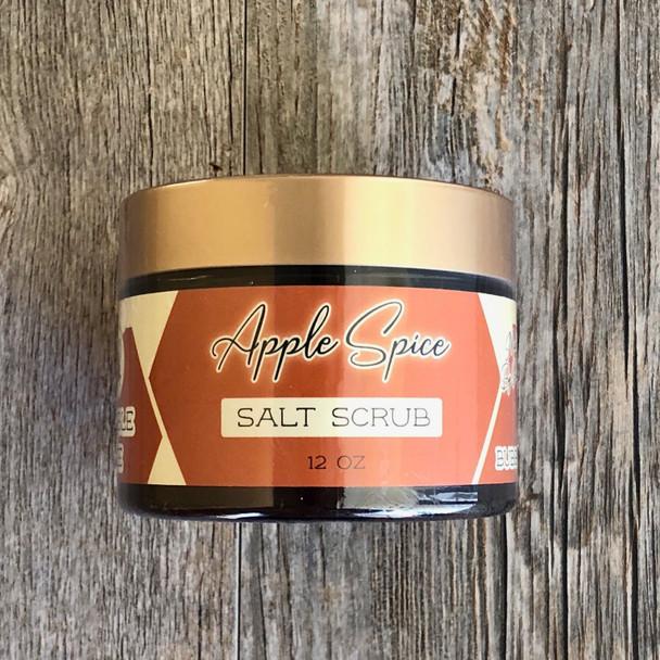 Apple Spice Salt Scrub