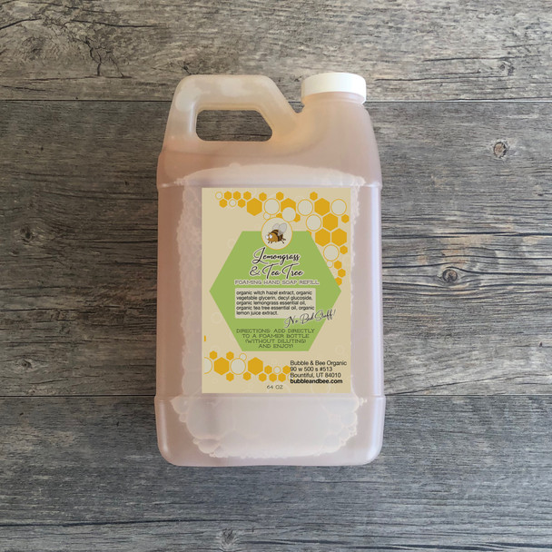 Lemongrass Tea Tree Foaming Hand Soap Refill