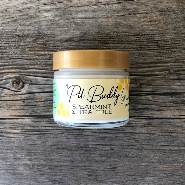 Pit BUDDY Sensitive Skin Deodorant Cream: Spearmint & Tea Tree