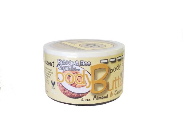 Almond & Coconut Organic Body Butter 4 oz