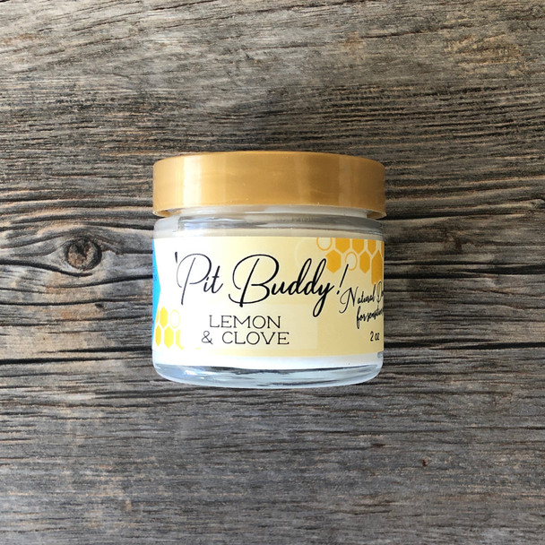 Pit BUDDY Sensitive Skin Deodorant Cream: Lemon & Clove