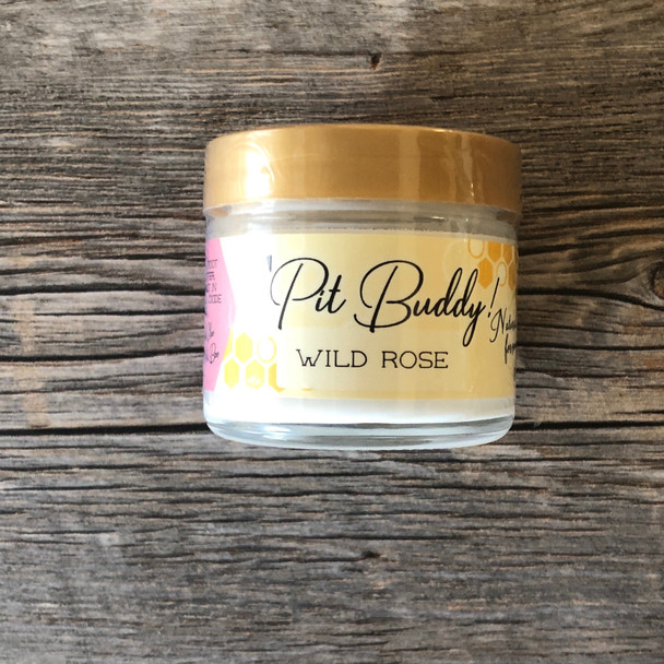 Pit BUDDY Sensitive Skin Deodorant Cream: Wild Rose
