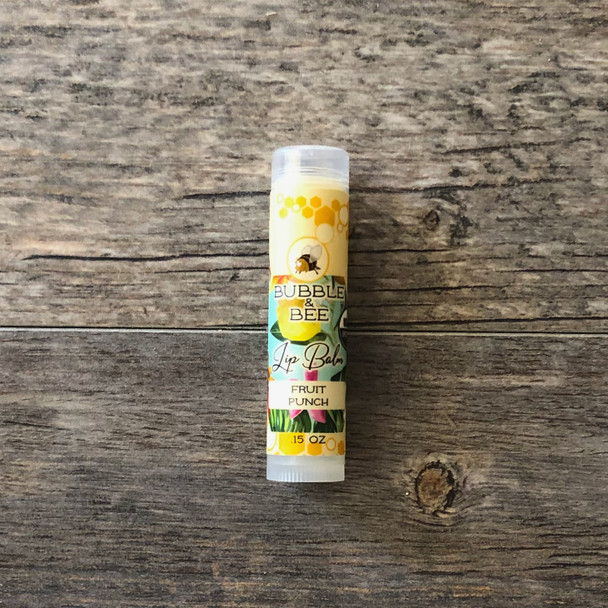 NEW Fruit Punch Lip Balm