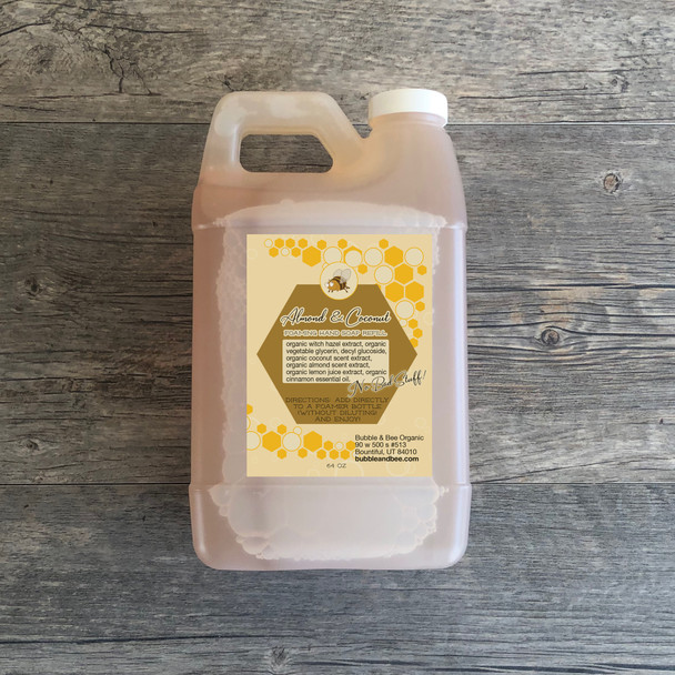 Almond & Coconut Foaming Hand Soap 64 oz Refill LIMITED-EDITION