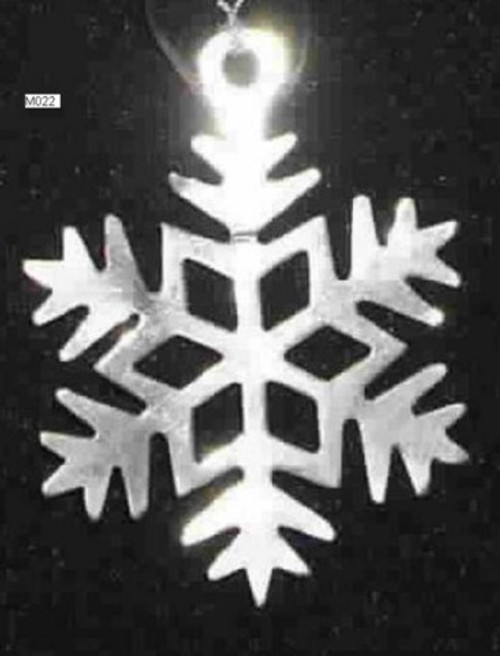 Snowflake Silver M022