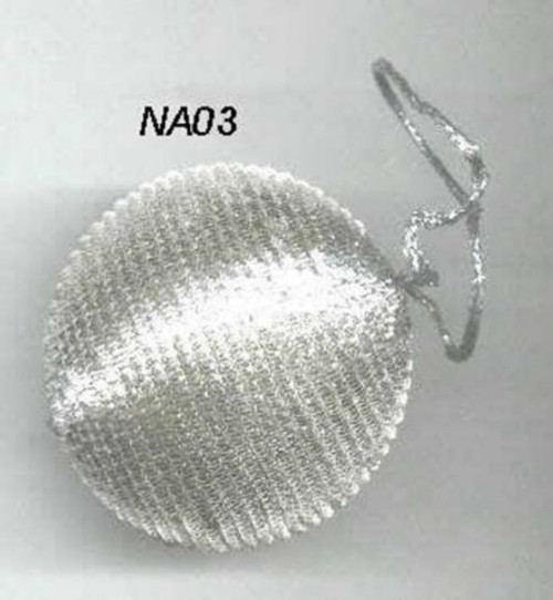 Ball Nakshi small Silver NA03S