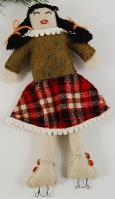 Doll with skate AF07