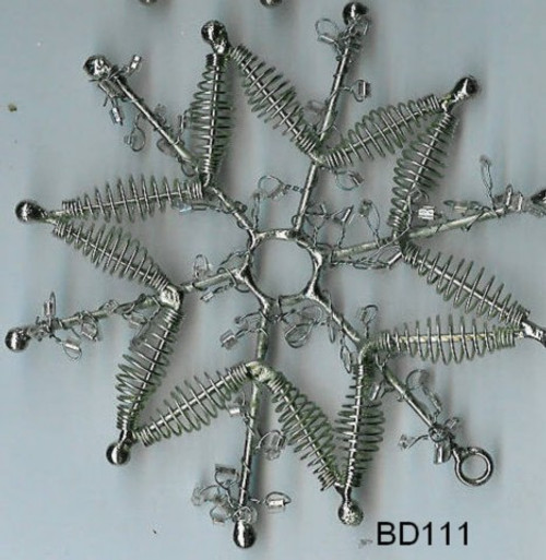 Snowflake spirals BD111