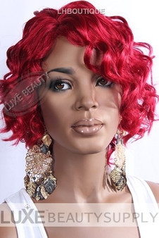 IT Tress Synthetic Wig Mina RED Front