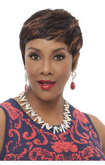 Vivica Fox Human Hair Pure Stretch Cap Wig - HH Carita
