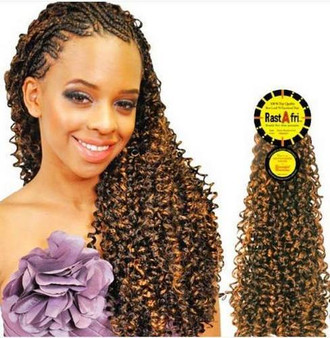 Rastafri Dream Romance Curl Synthetic Braiding Hair
