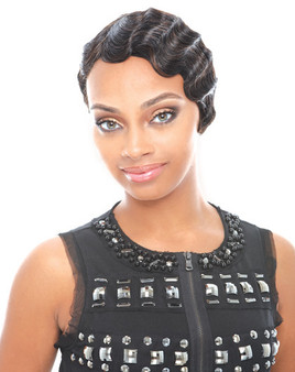 Janet Collection Human Hair Mommy 2 Wig