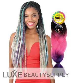 Rastafri Kanekalon highlight Braiding Hair Highlight Jumbo Braid