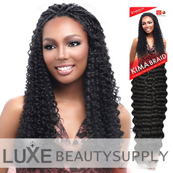 Harlem 125 Kima Crochet Braiding Hair Brazilian Twist Package