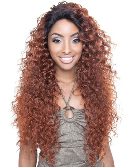 Isis Collection Brown Sugar Seamless Lace Wig - TAHITI BS 503