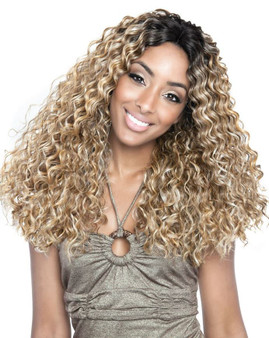 Isis Brown Sugar 100% Human/Syn Swiss Lace Wig BS220