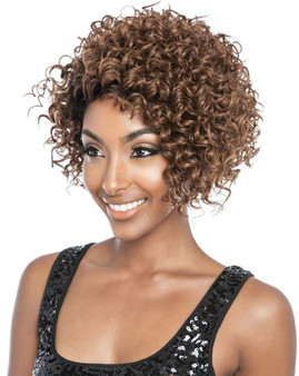 Mane Concept Brown Sugar Signature Part Lace Front Wig EBONY BSS 204