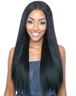 "Mane Concept Uni Weave Straight Natural Yaki 24"" MBUW 01 - Front"
