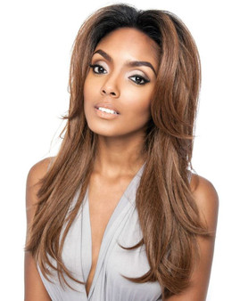 Mane Concept Brown Sugar Frontal Lace Wig BSF 01 ront