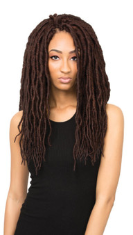 Urban Beauty Natural Crochet Loop Goddess Faux Locs Braid 18 Front