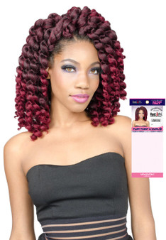 Rastafri Crochet Braiding Hair Flat Twist & Curl 8