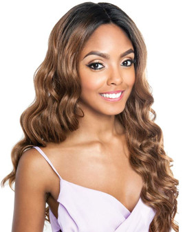 Mane Concept Frontal Lace Brown Sugar Lace Font Wig BSF03