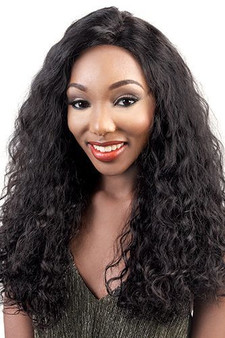 Beshe 100% Brazilian Remi Virgin Human Hair Silk Lace Wig HBR-Silk 18 (Natural Brown)