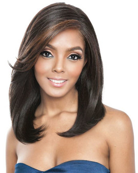 Mane Concept Brown Sugar Frontal Lace Front Wig BSF09