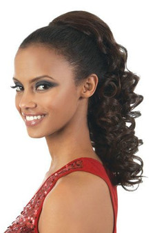 Beshe Ponytail Futura Curlable Curly PT24HT 24