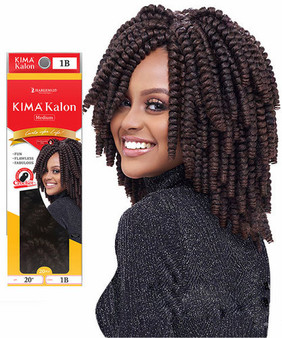 Harlem 125 Crochet Braiding Hair KimaKalon Medium 20