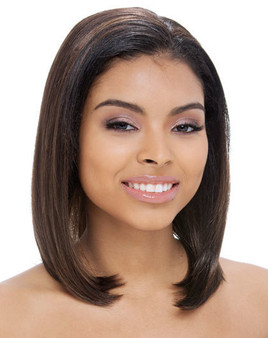 Janet Collection Synthetic Hair Easy Wear Half Wig Aron