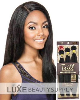 "Mane Concept Trill 100% Unprocessed Virgin Human Hair Brazilian Straight Weave 3pcs (18""/20""/22"") - TRW302"