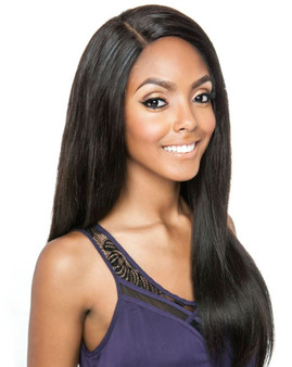 "Mane Concept Trill 100% Unprocessed Virgin Human Hair Brazilian Straight Weave 3pcs (20""/22""/24"") - TRW302"