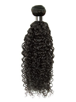 100% Virgin Indian Curly Weaving Hair - 16""