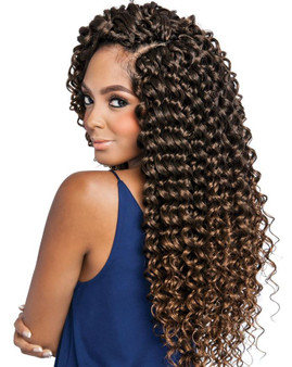 Mane Concept Crochet Braiding Hair Water Fall Side 2
