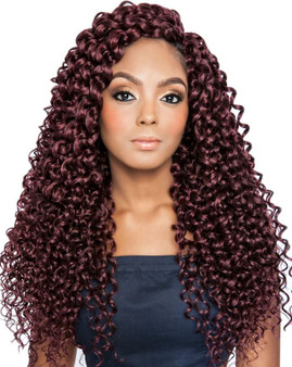 Crochet Braiding Hair by Mane Concept Cascading Ripple Model