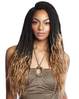 Mane Concept Afri-Naptural Crochet Braid SB306 3X Kritz Senegal Twist 18