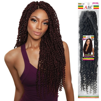 Mane Concept Crochet Braids Afri Naptural Pre Stretched TWB112 Gorgeous Passion Twist 20