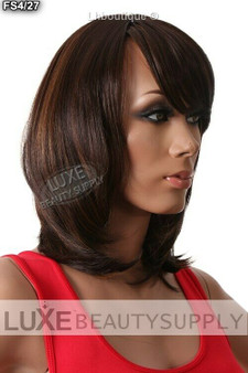 Nix Nox Synthetic Wig Berry (FS4/27 - Medium Brown/Honey Blond HL)