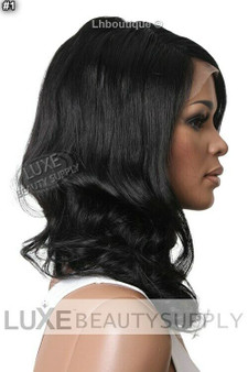 Brazilian Full Lace Wig Kimora (1 - Jet Black)