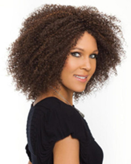 Carefree Synthetic Wig - Tanay