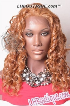 Champagne Futura Synthetic Lace Front Wig - Pamela